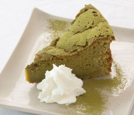 Cake with Matcha-Tea