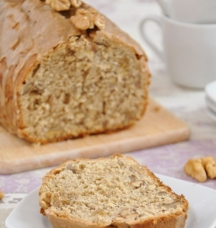 Walnut Cake with Black Tea