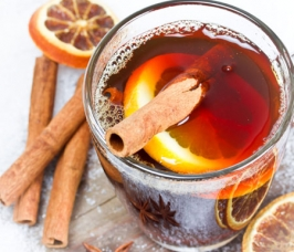 Warming Tea-Punch with Black Tea